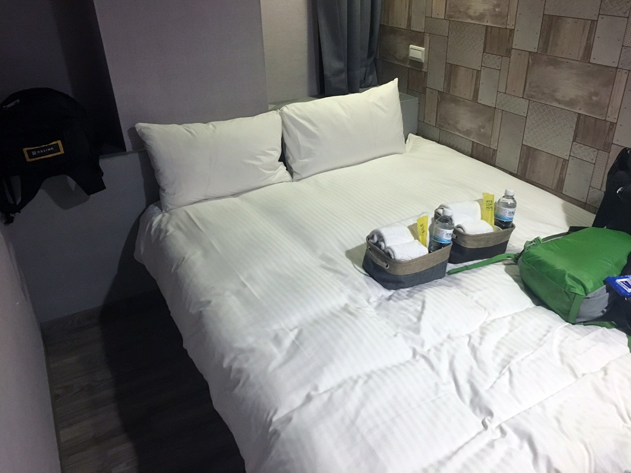 Early Retirement Is Like Traveling Back in Time // Our tiny hotel room the last night in Taipei -- a far cry from the Marriotts or occasional Ritz of our work travel!