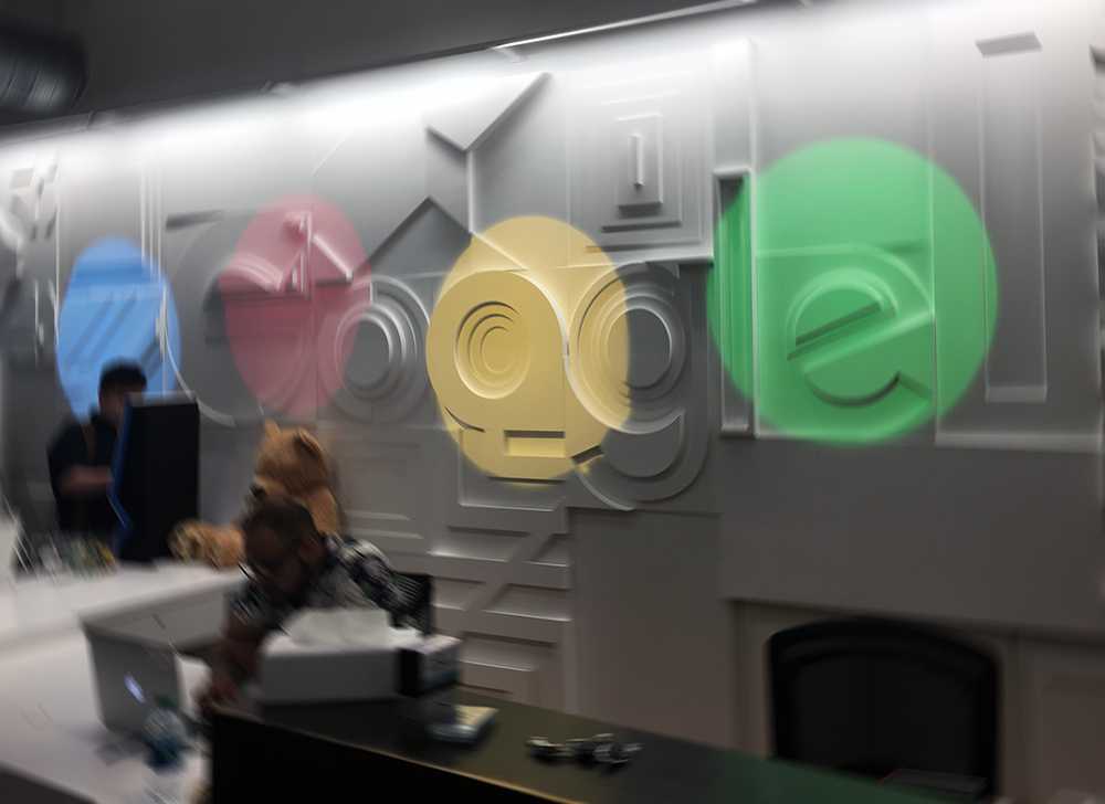 Google-lobby