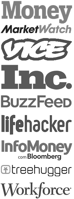 Our Next Life, featured on Money, MarketWatch, Inc., Vice, BuzzFeed, lifehacker and more