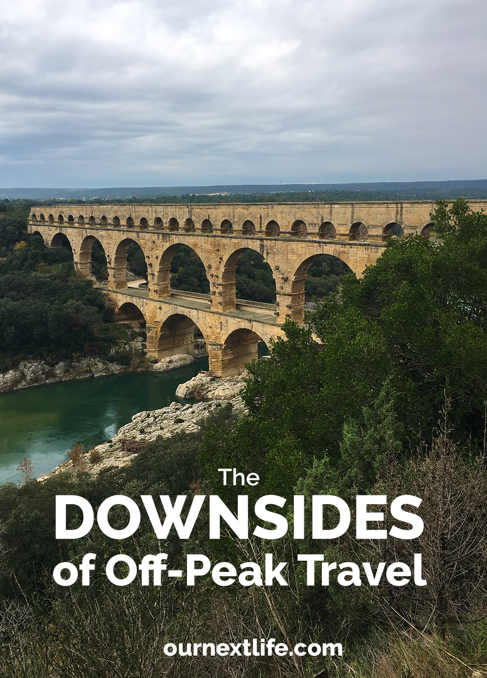The Downsides of Off-Peak Travel // Our Next Life, early retirement, financial independence, FIRE, retire early, work optional