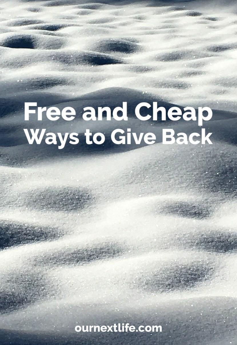 free-cheap-give-back