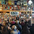 Tanja Hester, author of Work Optional: Retire Early the Non-Penny-Pinching Way, speaking at Book Passage in San Francisco, June 2019