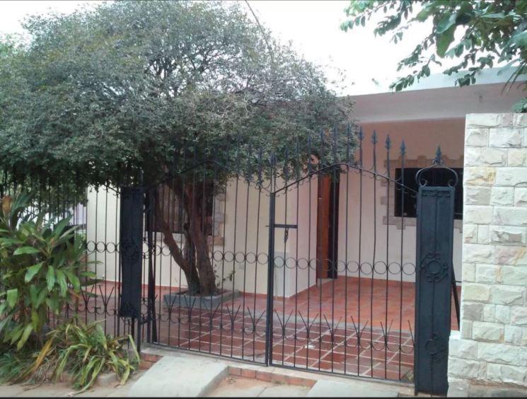 Our home in Asuncion for a month - La Casita