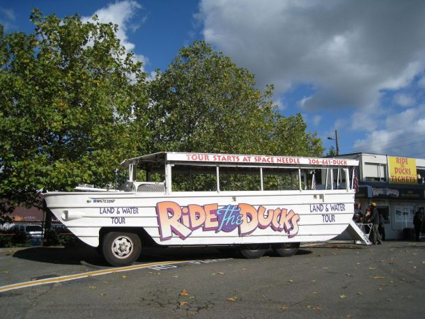 ride the duck's seattle wa