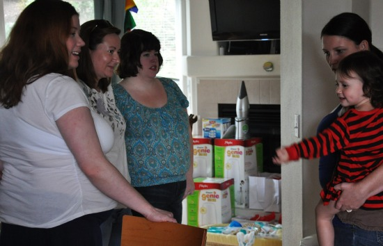 diaper genie party our ordinary life madhatter mom bloggers