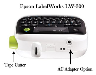 Epson LabelWorks LW-300 Side