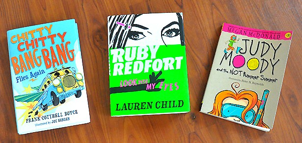 Childrens, kids, tweens books for summer reading
