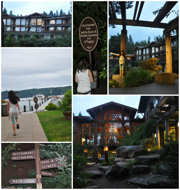 Alderbrook Resort & Spa grounds Union, Washignton