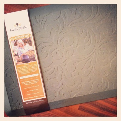New Paula Deen Kitchen Mat Brings Comfort and Style to the Kitchen