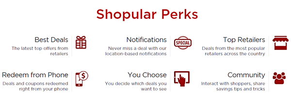 Shopular benfits savings