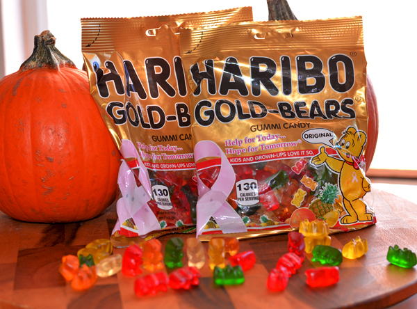 haribo gummy bears breast cancer awareness