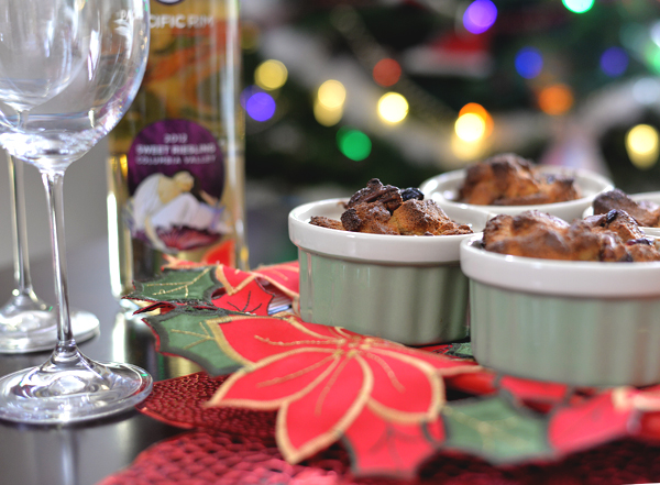 Pacific Rim Reisling And Pound Cake Pudding (1)