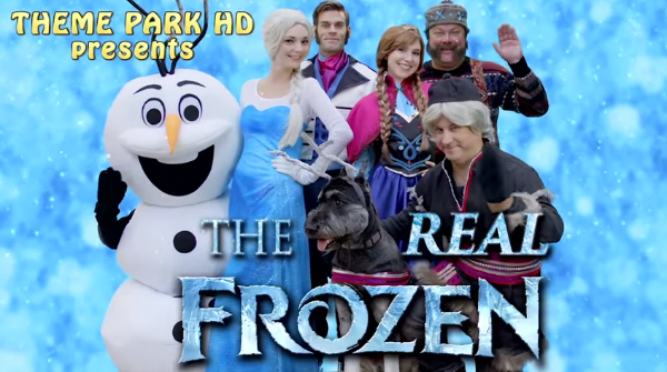 real frozen