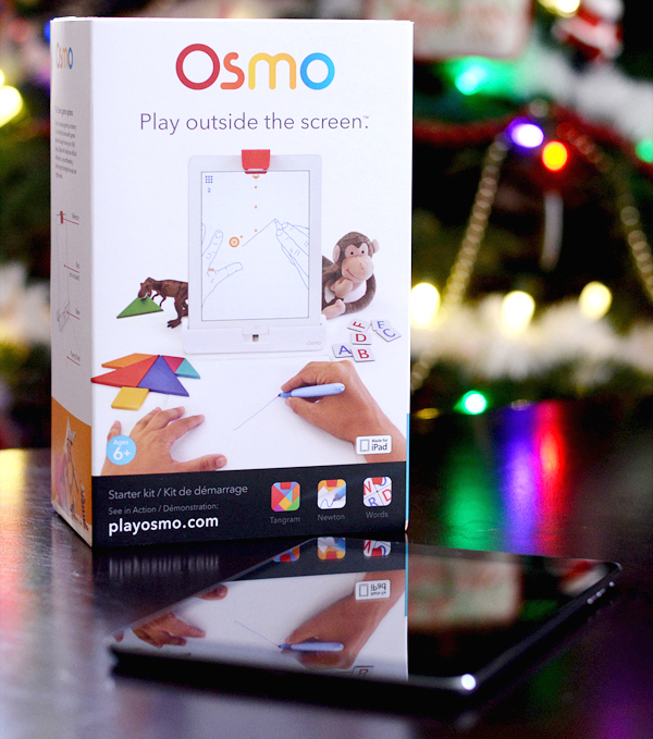 Osmo iPad Learning Game Play Outside The Screen