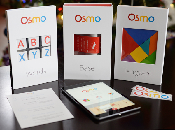 Osmo iPad Learning Game Words Base Tangram