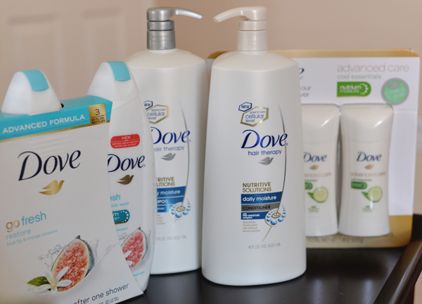 Dove New Products Hampoo Conditioner Hair Therapy