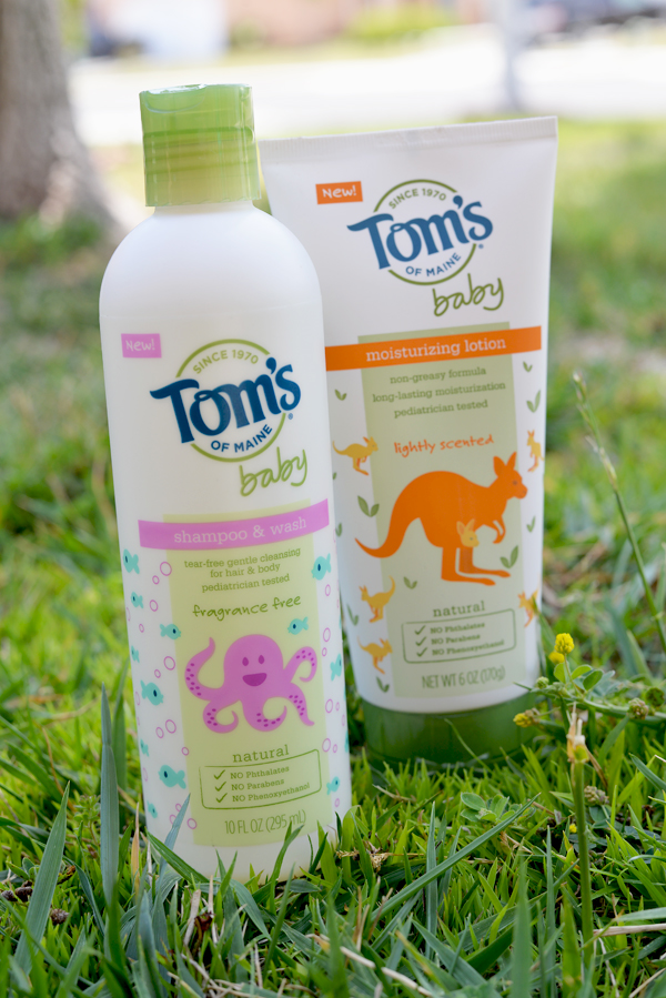 Toms of Maine Baby Shampoo Wash Lotion