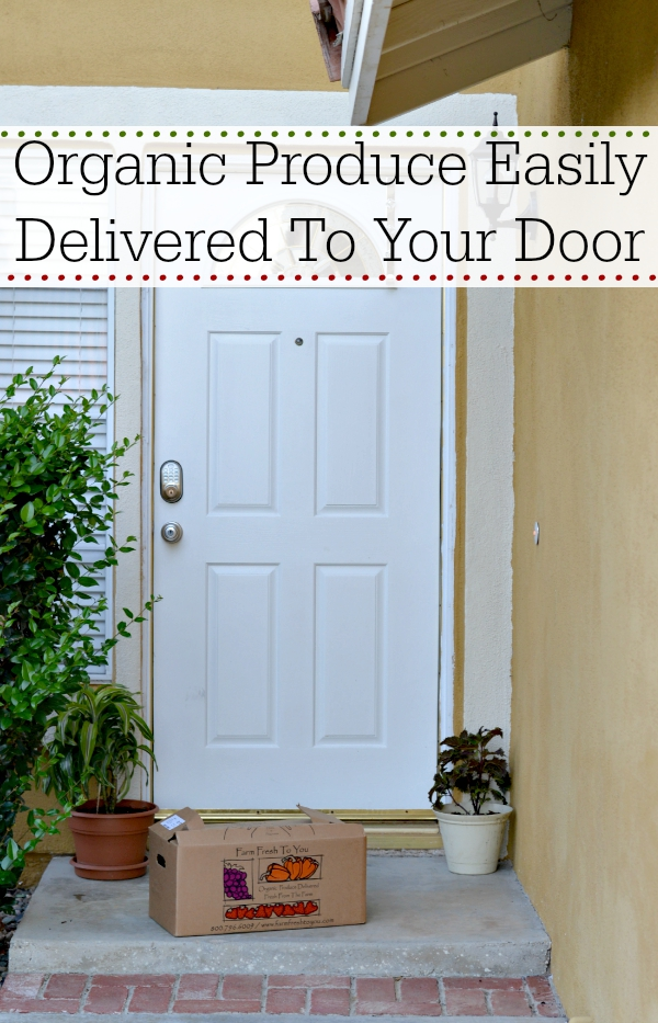 Organic Produce Easily Delivered To Your Door