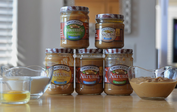 Smuckers Natural Peanut Butter Honey, Chunky, Reduced Fat, No Salt