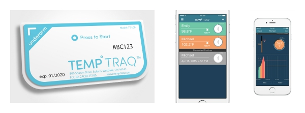 TempTraq is the 1st wearable Bluetooth® thermometer 2