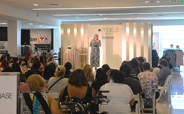 Macys Fashion Show Emme plus size model rancho california (2)
