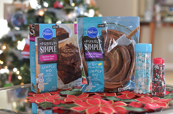Pillsbury Purely Simple Brownie Mix (1)