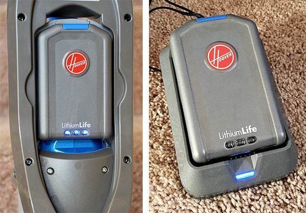 Hoover Vac Cordless Lithium Battery