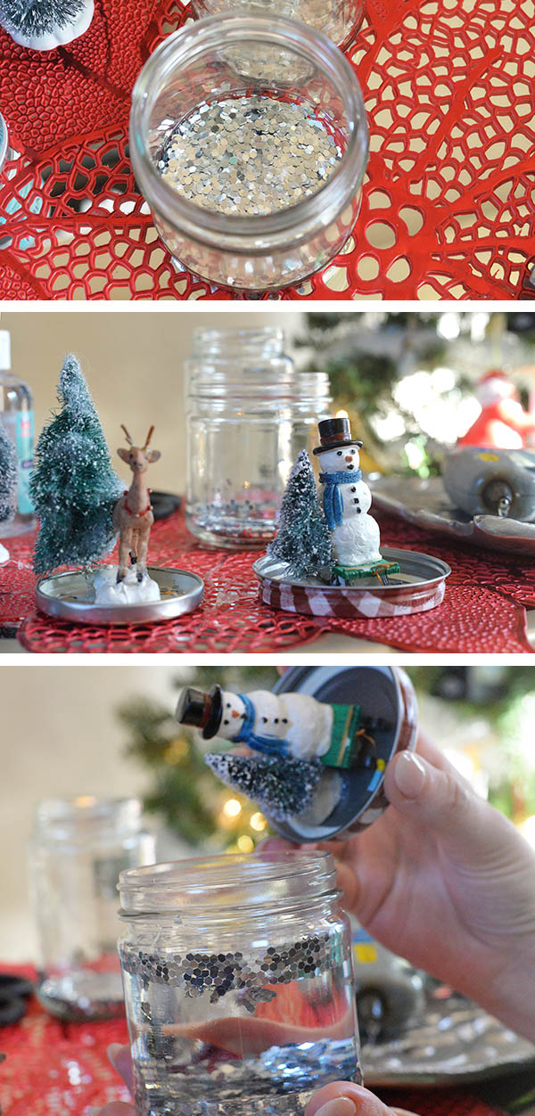 Seventh Generation Snowglobes diy how to