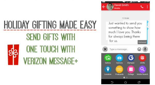 Verizon Message+ – Give The Gift Of Data | Our Ordinary Life