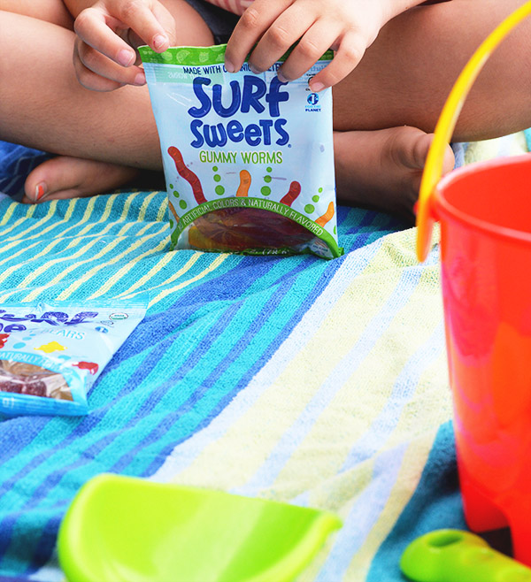Surf Sweets Gummy Worms