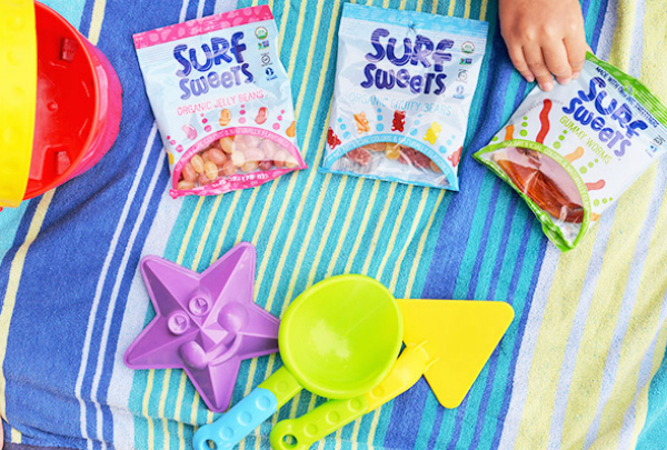 Surf Sweets Natural and Organic Gummy Worms