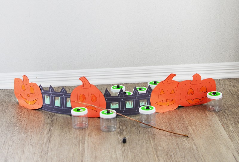 halloween fishing game for kids party