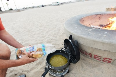 Chilaquiles On The Go at beach