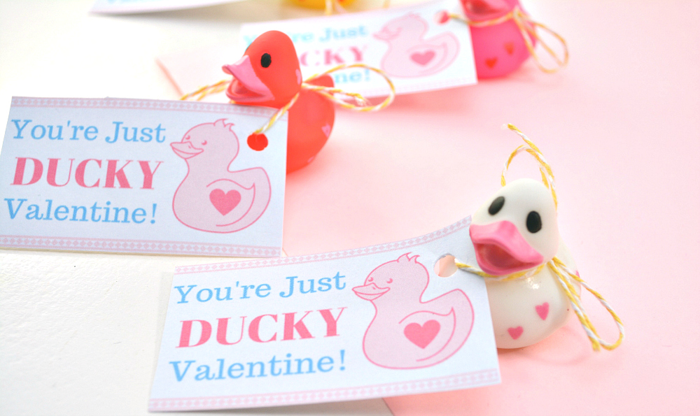 """""""You're Just Ducky"""" Valentine"""