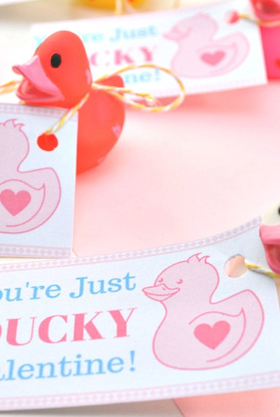 """You're Just Ducky"" Valentine"