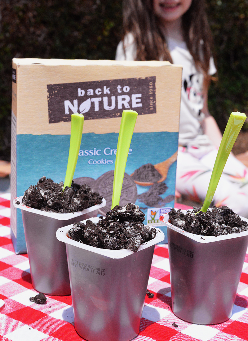 back to nature garden dirt cups pudding cookies (1)