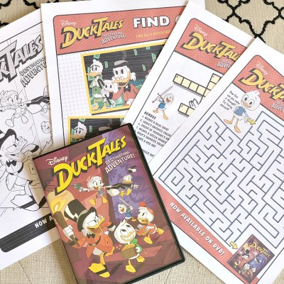 FREE Printables – DUCKTALES: DESTINATION ADVENTURE!