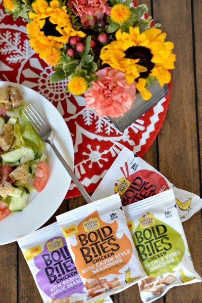 Foster Farms Bold Bites chicken salad cajun chile