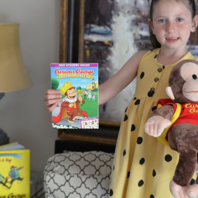 Releasing on DVD Curious George: Royal Monkey
