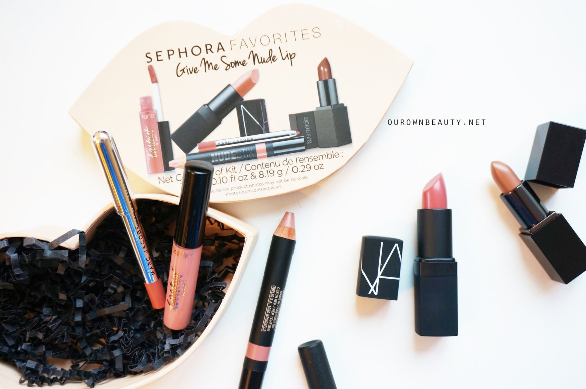 review set son sephora favorites give me some nude lip