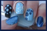 After stamping my thumb