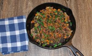 Pork and Vegetable Breakfast Hash