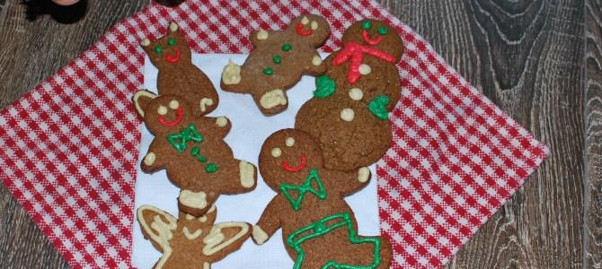 Gingerbread Cookies (Paleo, gluten free, dairy free)