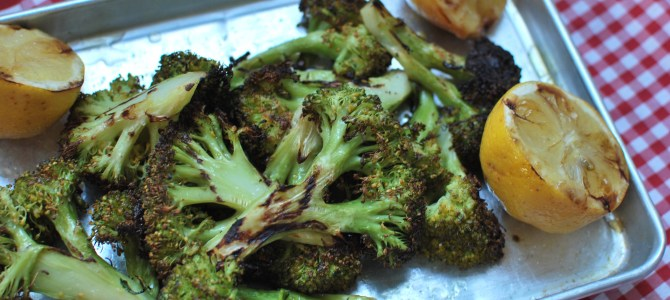 Grilled Broccoli (and lots of other veggies)