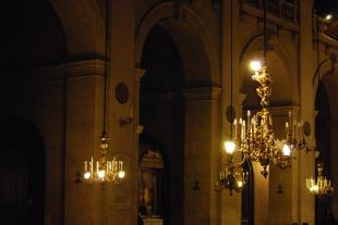 Chandelier Eglise
