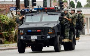 militarization of police picutre