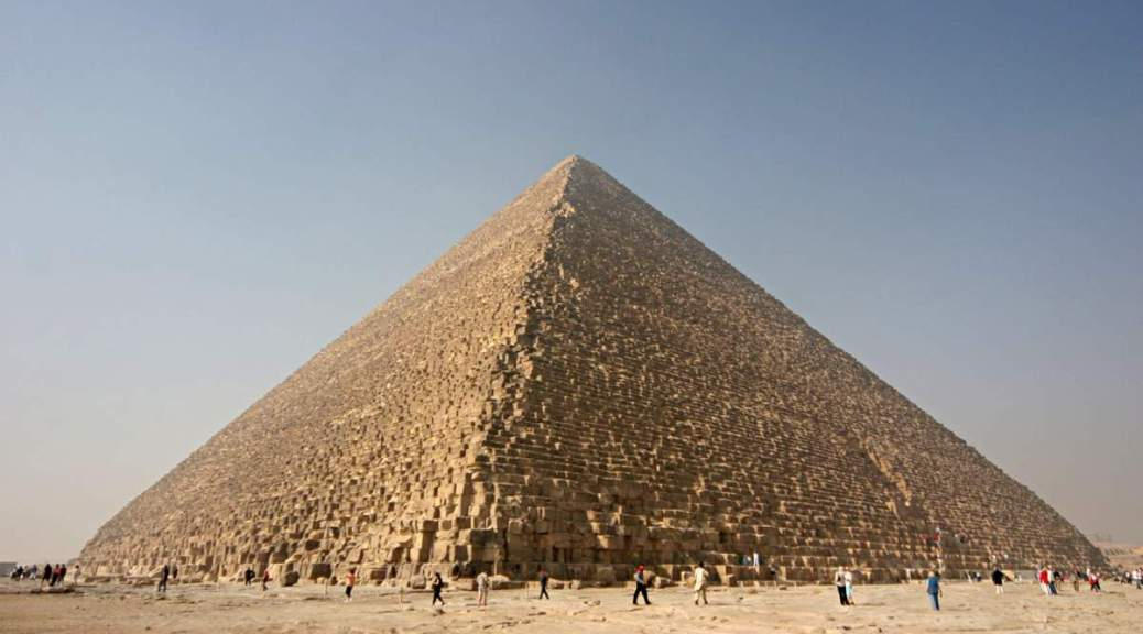 The Great Pyramid of Giza (Kheops Pyramid)