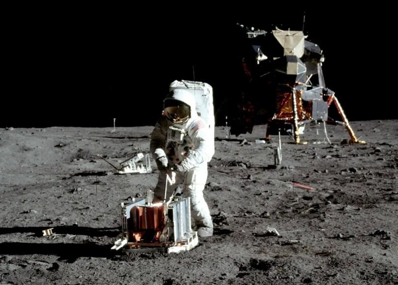 Moonwalking is also Spacewalking