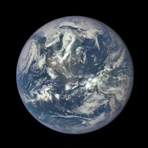 """EPIC"" Earth Image by NASA (July 06, 2015)"