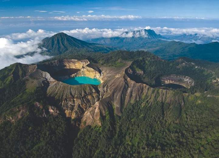 Mount Kelimutu Lakes, Indonesia